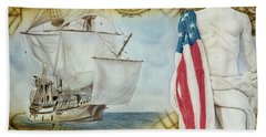 Visions Of Discovery Bath Towel