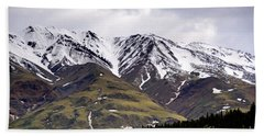 Visit Alaska Hand Towel