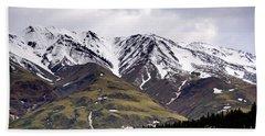 Visit Alaska Bath Towel
