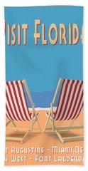 Visit Florida Saint Augustine Miami Beach Key West Fort Lauderdale Bath Towel