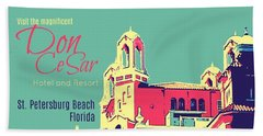 Visit The Don Cesar Hand Towel