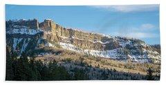 Volcanic Cliffs Of Wolf Creek Pass Hand Towel