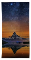 Volcano Fountain Bath Towel