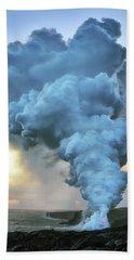 Volcano Plume Hand Towel