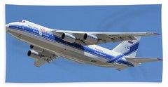 Volga-dnepr An-124 Ra-82068 Take-off Phoenix Sky Harbor June 15 2016 Bath Towel