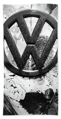 Volkswagon Vw Bath Towel by Kelly Hazel