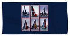 Volvo Ocean Race Newport 2015 Bath Towel