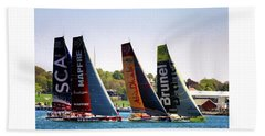 Volvo Ocean Race Newport Ri Bath Towel