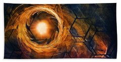 Vortex Of Fire Bath Towel