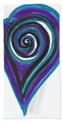 Vortex Wave Bath Towel