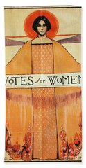 Votes For Women - To License For Professional Use Visit Granger.com Hand Towel