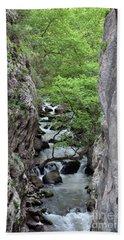Vouraikos Gorge Bath Towel
