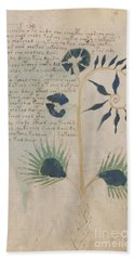 Voynich Flora 12 Bath Towel