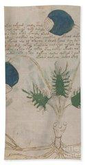 Voynich Flora 20 Bath Towel