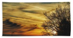 Bath Towel featuring the photograph Vscoskies by Nikki McInnes