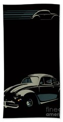 Vw Beatle Bath Towel