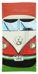 Vw-bus-obie Bath Towel