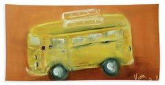Vw Bus Bath Towel