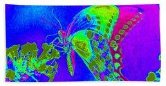 Wacky Butterfly Bath Towel
