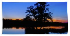 Wagardu Lake, Yanchep National Park Hand Towel by Dave Catley