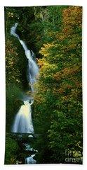 Wahkeena Falls Waterfall Bath Towel