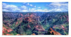 Waimea Canyon Hand Towel