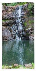 Waimea Waterfall Hand Towel