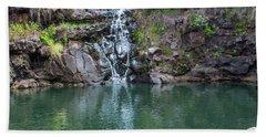 Waimea Waterfall Horizontal Hand Towel