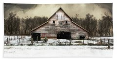 Hand Towel featuring the photograph Waiting For The Storm To Pass by Julie Hamilton