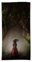 Walk In The Magic Forrest Bath Towel by Jaroslaw Blaminsky