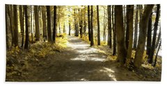 Walk In The Woods Hand Towel
