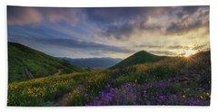 Walker Canyon Hand Towel by Tassanee Angiolillo