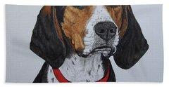 Walker Coonhound - Cooper Bath Sheet by Megan Cohen