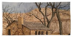 Walker Homestead In Escalante Canyon Bath Towel