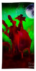 Walking Dead Daryle Hand Towel by Justin Moore