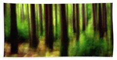 Walking In The Woods Hand Towel