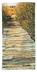Bath Towel featuring the photograph Walking Path by Alexey Stiop