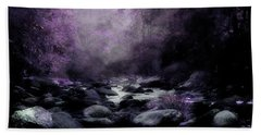 Walking Upstream Hand Towel by Mike Eingle