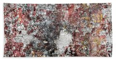 Wall Abstract 103 Hand Towel by Maria Huntley
