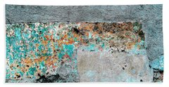 Wall Abstract 117 Hand Towel by Maria Huntley