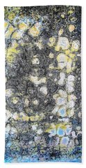 Wall Abstract 162 Hand Towel by Maria Huntley