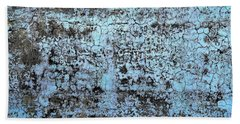 Wall Abstract 163 Hand Towel by Maria Huntley