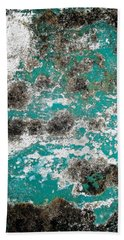 Bath Towel featuring the photograph Wall Abstract 171 by Maria Huntley