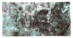 Wall Abstract 173 Hand Towel by Maria Huntley