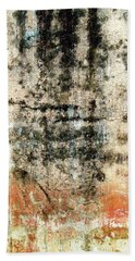 Wall Abstract 182 Hand Towel by Maria Huntley