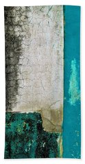 Bath Towel featuring the photograph Wall Abstract 296 by Maria Huntley