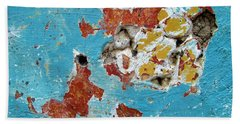 Wall Abstract 99 Hand Towel by Maria Huntley