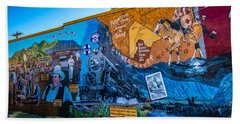 Wall Mural In Alpine Texas Hand Towel