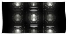 Wall Of Roundels 3x3 Hand Towel
