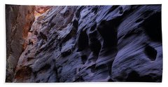 Wall Street At The Narrows At Zion National Park Bath Towel